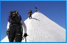 Mountaineering tour packages